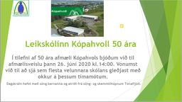 Fréttamynd - Kópahvoll 50 ára